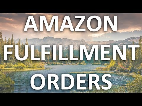 How To Create A Fulfillment Order in Amazon Seller Central