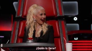 Christina Aguilera - ¿Dónde está el teléfono de Blake? -  The Voice 10 (Subtítulos español)