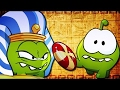 Om Nom StoriesCut The Rope Funny Cartoons For Kids Ancient Egypt Time Travel Fun Chotoonz TV waptubes