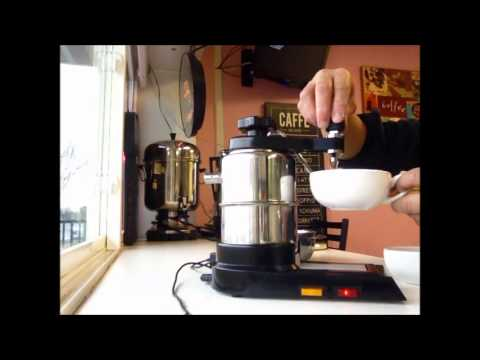 Making Latte with Bellman CX-25 Espresso Machine