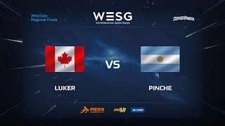 Luker vs Pinche, game 1