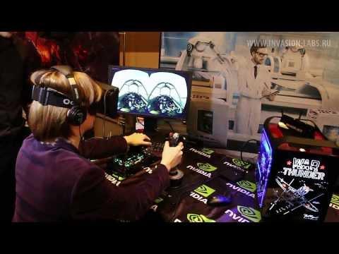 Invasion Labs на Ogic 4: тест Oculus Rift в War Thunder