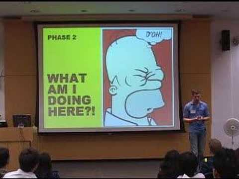 International students - Columbia Business School Orientation, January 2008.