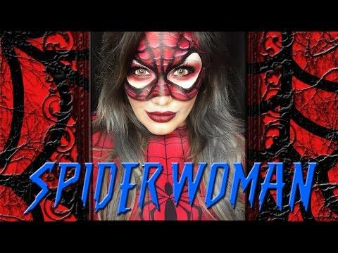 Download Video Spider Woman Makeup Tutorial!