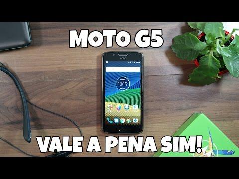 Review Moto G5: ele está de volta, e compensa sim