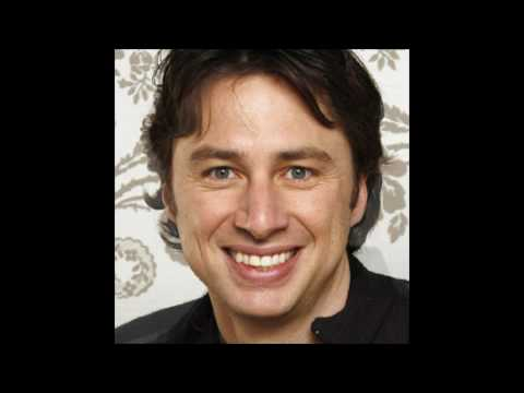Father and son - Zach Braff and John Ritter (R.I.P.)
