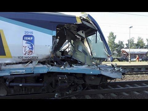 SC PENDOLINO CRASH - speed 160 km/h Studénka
