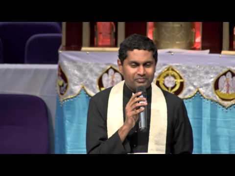 Second saturday convention Oct 13 talk by Fr. Soji Olikkal