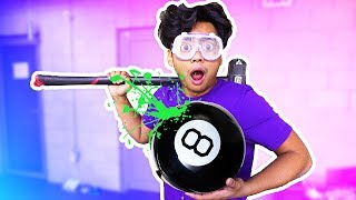Video WHAT'S INSIDE A GIANT MAGIC 8 BALL?! MP3, 3GP, MP4, WEBM, AVI, FLV Juli 2018