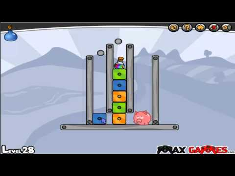 Pigs Can Fly Level 26-30 Walkthrough
