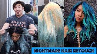 Video NIGHTMARE HAIR RETOUCH! MP3, 3GP, MP4, WEBM, AVI, FLV Maret 2019