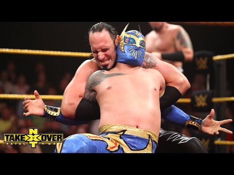 The Ascension vs. Sin Cara & Kalisto - NXT TakeOver: Fatal 4-Way, Sept. 11, 2014