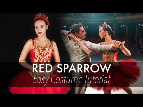 Red Sparrow / Ballerina - Costume Tutorial