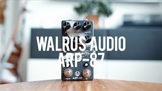 My demo of the Walrus Audio ARP-87 Delay!https://www.walrusaudio.com/Guitar: Fano PX6Amp: Tone King 20th Anniversary ImperialCables: Toaster Cables - http://www.toastercables.com/Patch cables: Mulder Audio - http://www.mulderaudio.com/Contact: livingroomgear@gmail.comhttps://www.patreon.com/livingroomgeardemoshttps://www.facebook.com/livingroomgearhttps://twitter.com/livingroomgearhttp://instagram.com/livingroomgeardemoshttp://ask.fm/livingroomgearhttp://livingroomgeardemos.tumblr.com