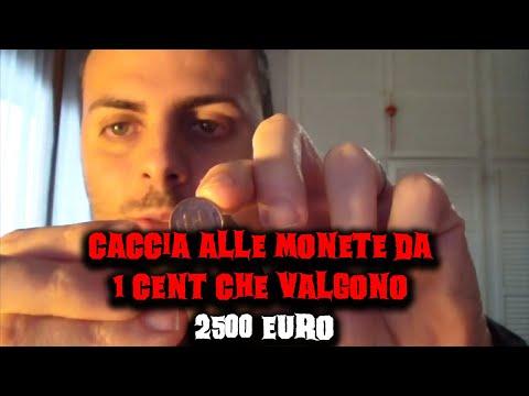 caccia alla moneta di 1 centesimo dal valore di 2500 euro!