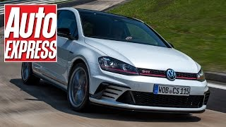 VW Golf GTI Clubsport S review: FWD Nurburgring record holder thrashed on track! by Auto Express
