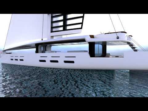 Kira - The Hybrid Sail Yacht