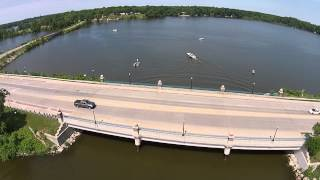 Belleville (MI) United States  City new picture : Aerial footage of Belleville Lake, Belleville, MI HD 1080p