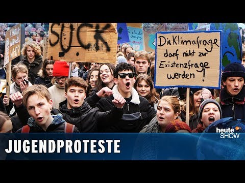 SATIRE: Artikel 13 & Fridays for Future: Die Jugend demonstriert
