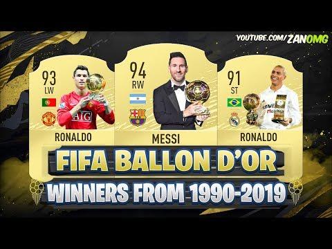Ballon d'Or Winners From (1990-2019)
