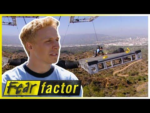 WEENIE Roast & SWINGING Rope Bridge | Fear Factor US | S03 E02 |  Full Episodes | Thrill Zone