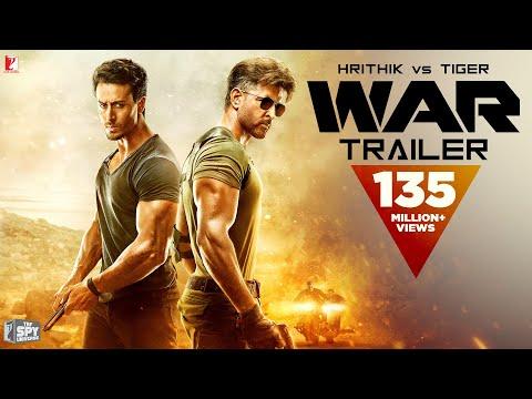 WAR Trailer | Hrithik Roshan, Tiger Shroff, Vaani Kapoor | Official Trailer | New Movie Trailer