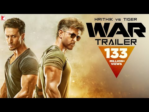 War Trailer  Hrithik Roshan  Tiger Shroff  Vaani Kapoor 4K  New Movie Trailer 2019