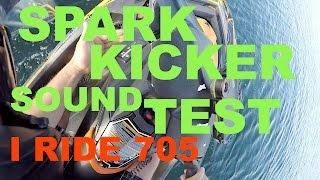 7. #25 Seadoo spark kicker sound system test review on jet ski