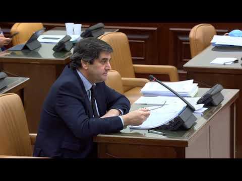 José Ignacio Echániz en el Grupo de Trabajo Unión Europea de la Comisión para la Reconstrucción