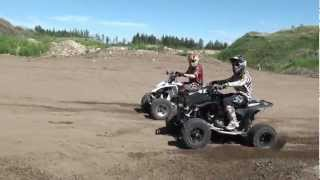 Video Honda TRX 450 VS Yamaha YFZ 450 MP3, 3GP, MP4, WEBM, AVI, FLV Juni 2017