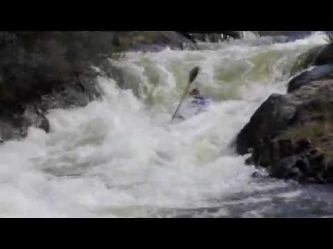 Bradys September Tasmania Extreme Slalom Kayaking