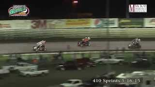 Knoxville 410 sprints 5-16-15