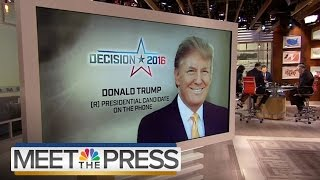 Chuck's full Meet the press interview with GOP front runner Donald Trump. » Subscribe to NBC News: http://nbcnews.to/SubscribeToNBC » Watch more NBC video: h...