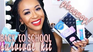 Top 10 ♡ Back-to-School Survival Kit Essentials + GIVEAWAY!  Collab w/ Bianca Canales  FashionablyFayy ★★ O P E N M E !! ★★ 🎉🎉🎉 CONGRATULATIONS TO KAYLA R...