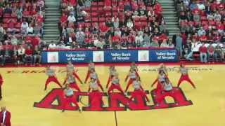 UNLV Rebel Girls I 2014-2015 Routines