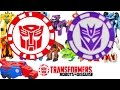 Transformers Robots In Disguise Full Collection Scan Autobot Decepticon Symbol Video Game Trick