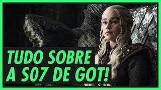 Vem ver tudo que já saiu de notícias, fotos e trailers sobre a 7ª temporada de Game of Thrones. :D #WinterIsHere Playlist de GoT...
