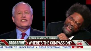 Crossfire: Cornel West and Bill Kristol on Obamacare (part 2/3)