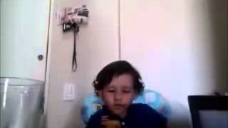 Three year old kid explains why he doesn´t want to eat meat