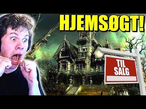 JEG BYGGER ET HJEMSØGT HUS OM TIL ET GAMER HUS!! - Dansk House Flipper