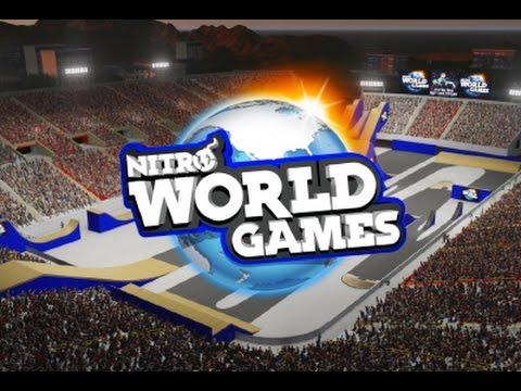 NITRO WORLD GAMES 2016 Freestyle Motocrossin hurjimmat temput