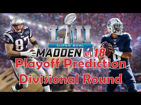 FULL GAME: Madden Prediction! Titans at Pariots Divisional Round