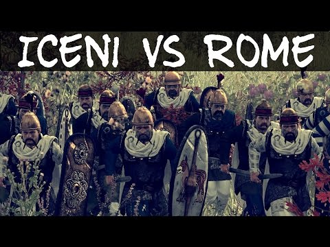Total War Rome 2 Online Battle 116 Iceni vs Rome