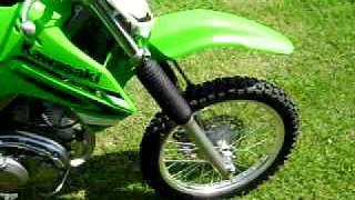 8. 2008 Kawasaki KLX 140L
