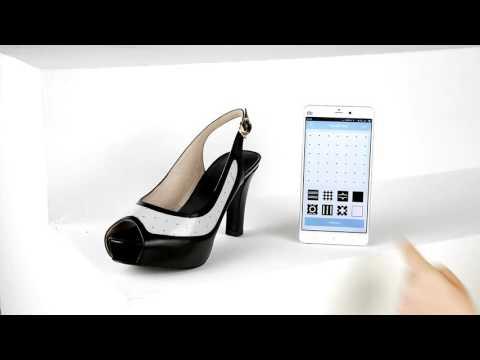 Combina estos zapatos con todo cambiando el diseño desde el smartphone