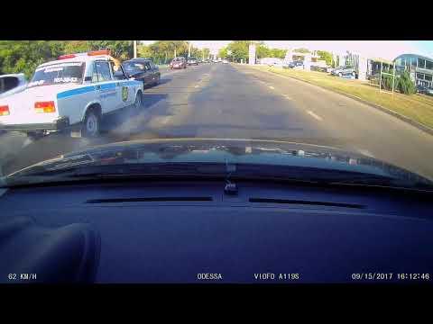 Лобовая авария в Одессе