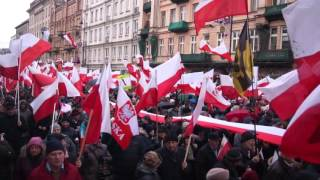 Marsz 13 Grudnia 2015 w Warszawie