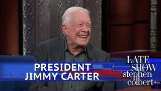 Video President Jimmy Carter Is Still Praying For Donald Trump MP3, 3GP, MP4, WEBM, AVI, FLV April 2018