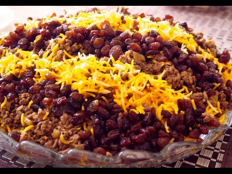 Persian Basmati Rice and Lentils dish