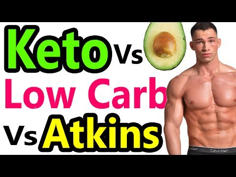 Ketogenic Diet vs Low Carb Diet - Best Weight Loss Diet Keto vs Atkins vs Paleo vs low carbohydrate